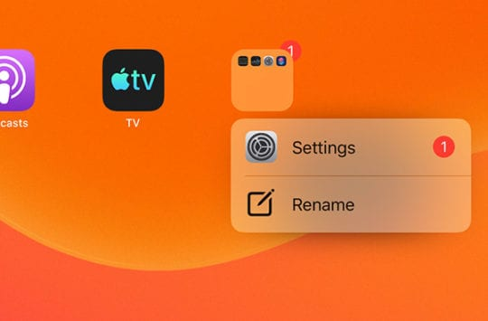 iPad Multitasking - Quick Actions