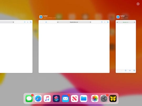 iPadOS Multitasking - App Expose