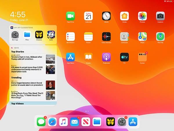 iPadOS Widgets - Home