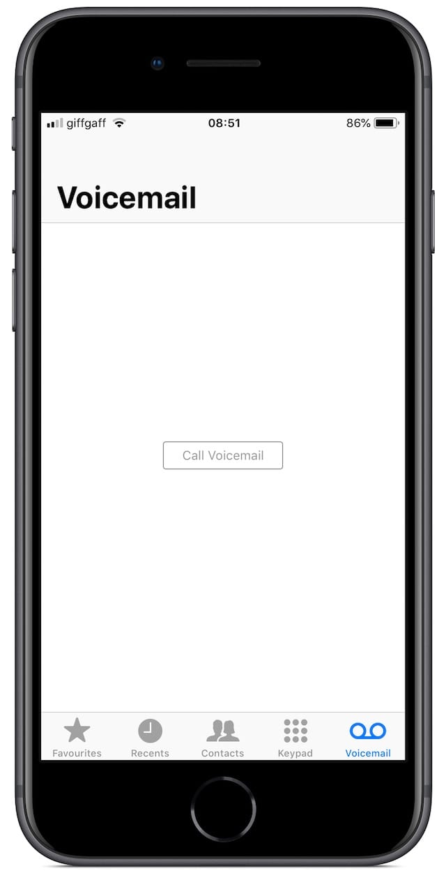 iPhone Visual Voicemail not working2
