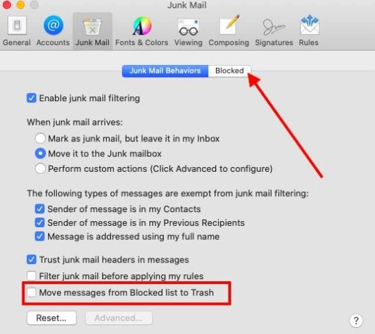 Mail App in macOS Catalina new features