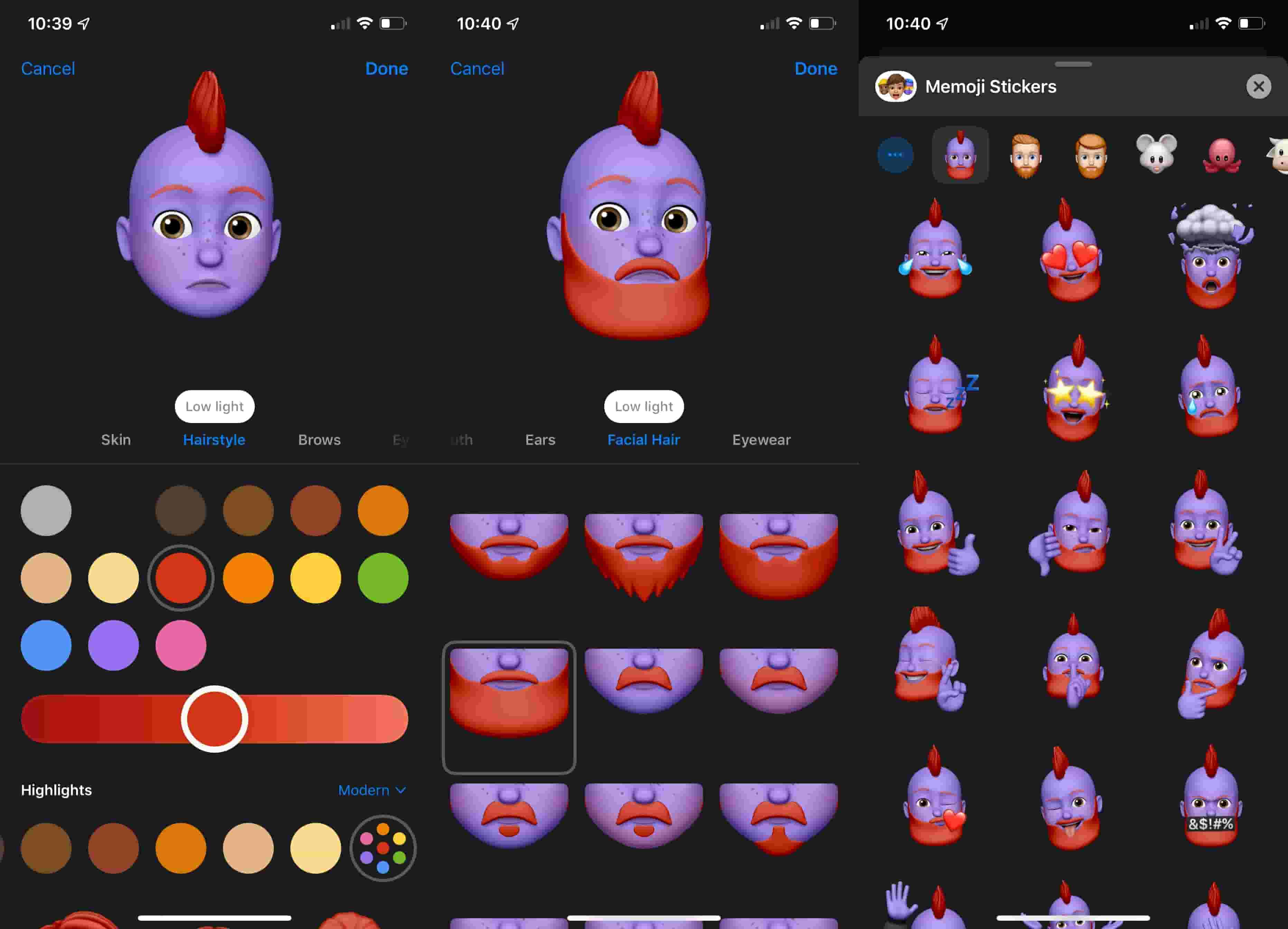 How To Edit And Create Customized Memoji In Ios 13 And