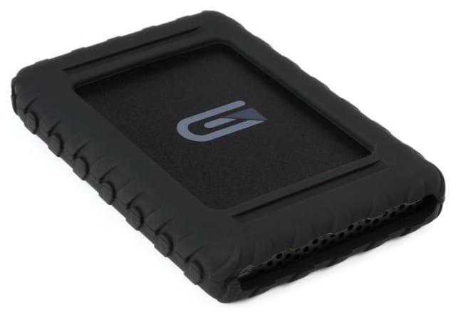 Glyph hard drive stock image