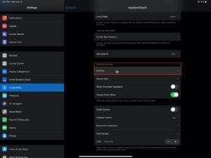 Open Pointer Devices iPadOS