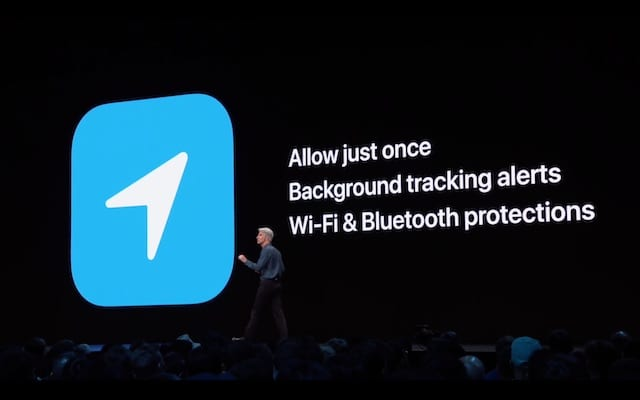 Wi-FI and Bluetooth tracking from WWDC 2019