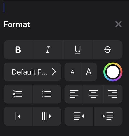 iOS 13 Mail Toolbar