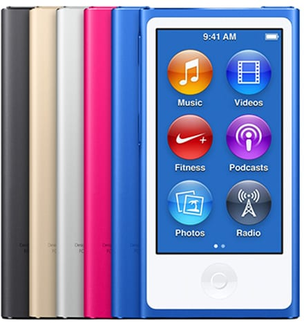 iPod nano stock image