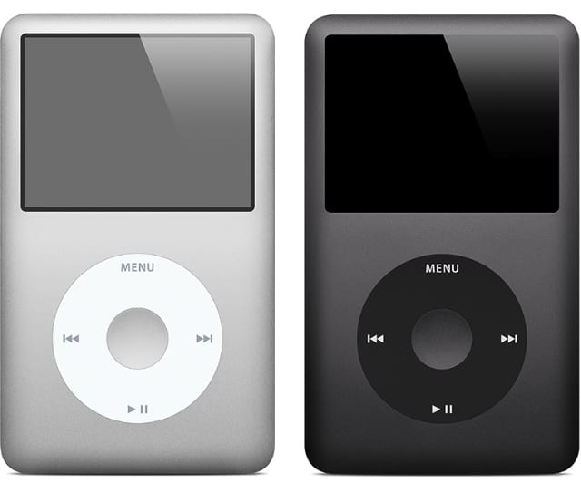 iPod classic stock image