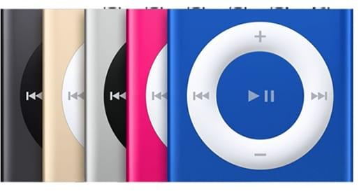iPod shuffle stock image