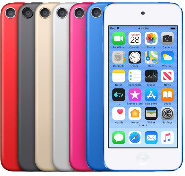 iPod touch stock image