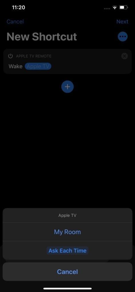 Control Apple TV Shortcuts 3