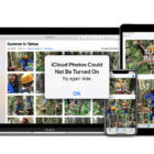 """How to fix the error """"iCloud Photos Could Not Be Turned On"""""""
