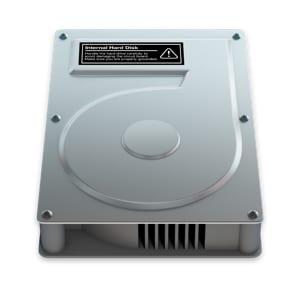 Mac hard drive image