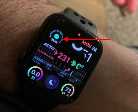 Measure Noise levels on Apple Watch