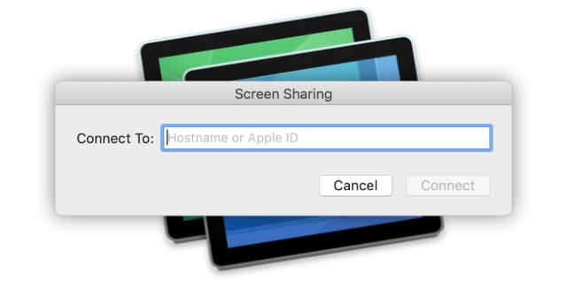 Screen Sharing app in macOS