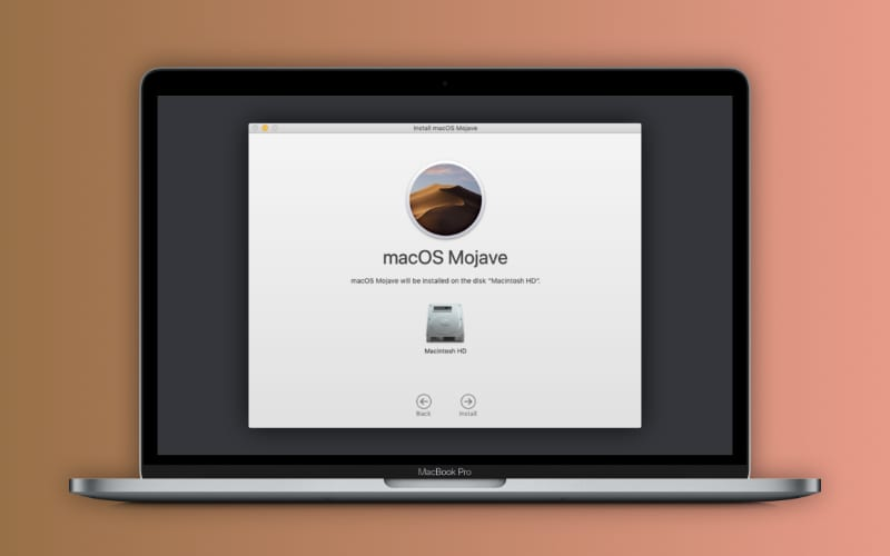 Stuck in a macOS update loop because there is not enough free space