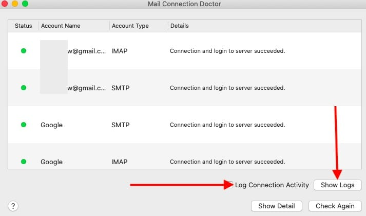 macOS Catalina Mail Account issues