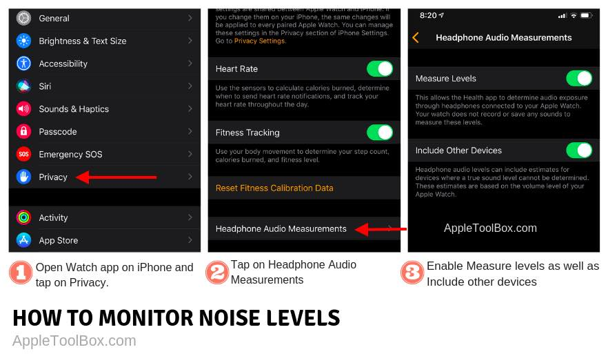 Where is noise App on Apple Watch