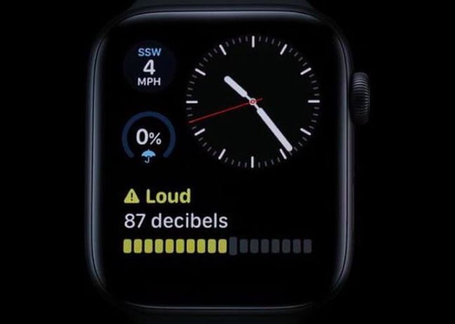 Where is the noise app on Apple Watch