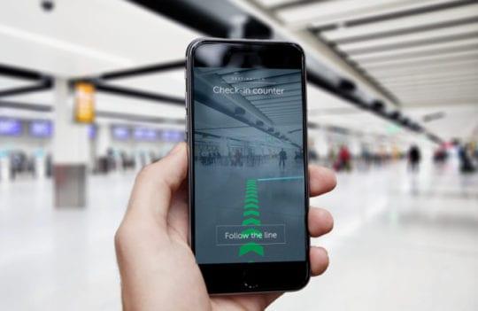 iPhone 11 - Indoor Navigation