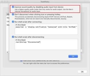 macOS Bluetooth - Toothfairy