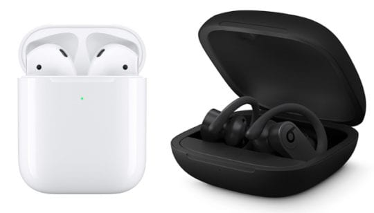 AirPods and PowerBeats Pro