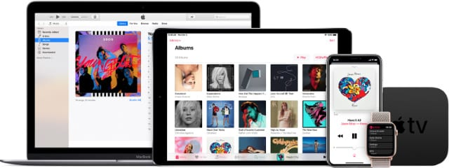 Apple Music across all every Apple device