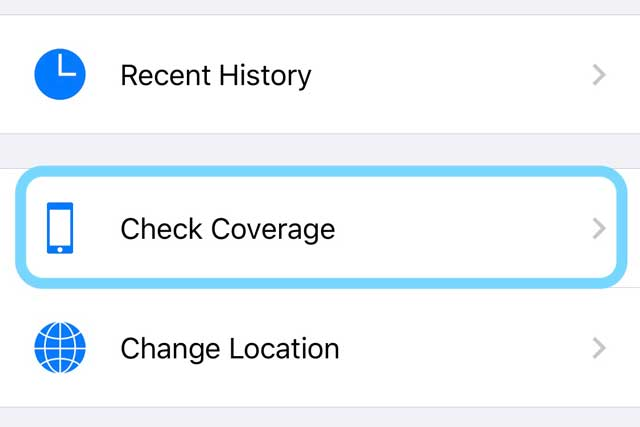 check coverage in apple support app