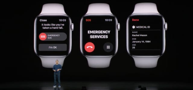 Apple Watch Emergency Services