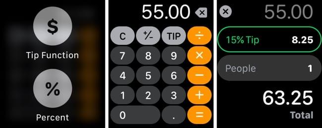 Apple Watch Calculator Tip