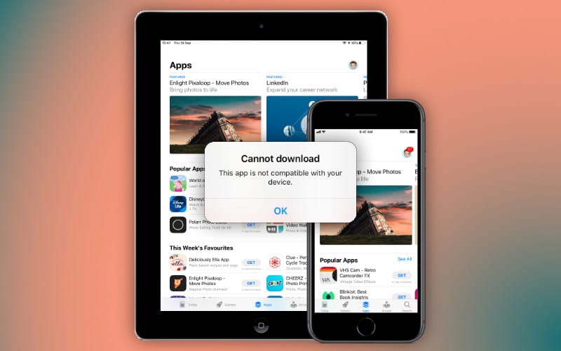 Download incompatible apps from the App Store on your older iPhone, iPad, or iPod touch