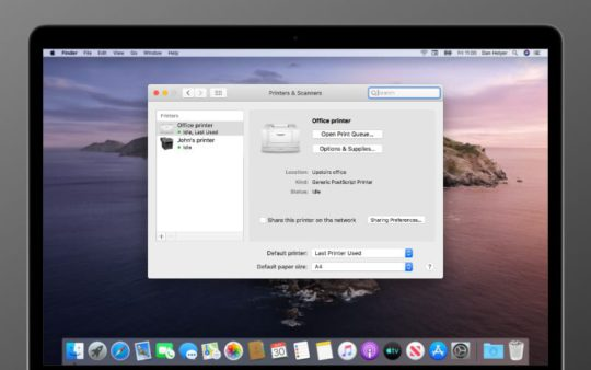 Epson software update for mac