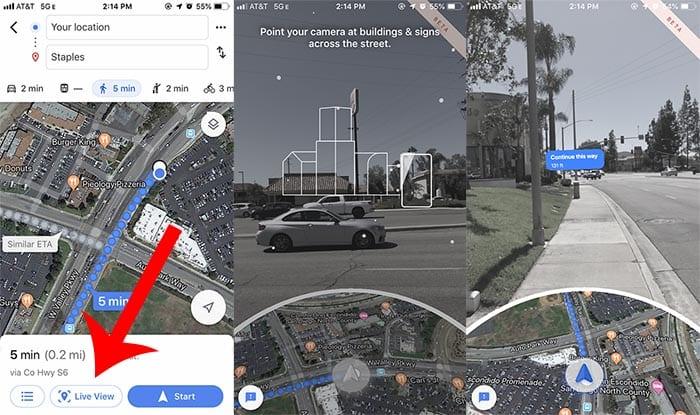 Google Live View