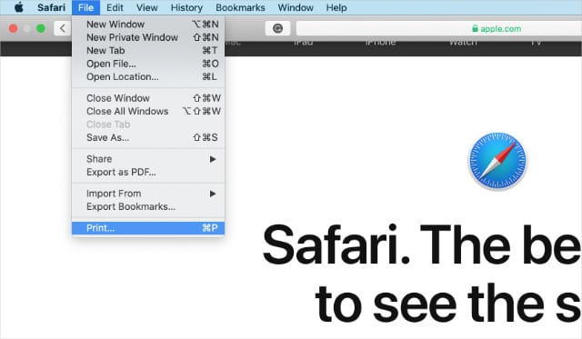 How To Print A Website From Safari On A Mac Or Fix It When It Doesn T Work