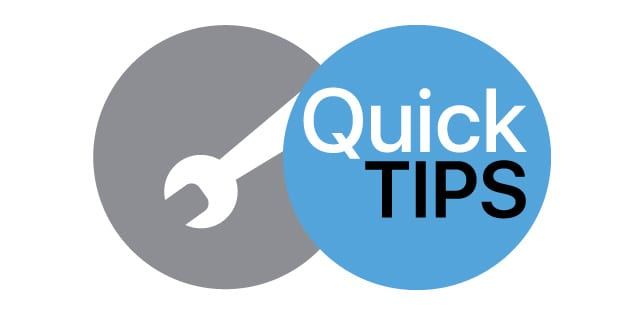 quick tips 2019