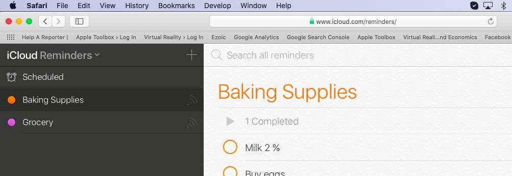 Missing Reminders on iOS 13
