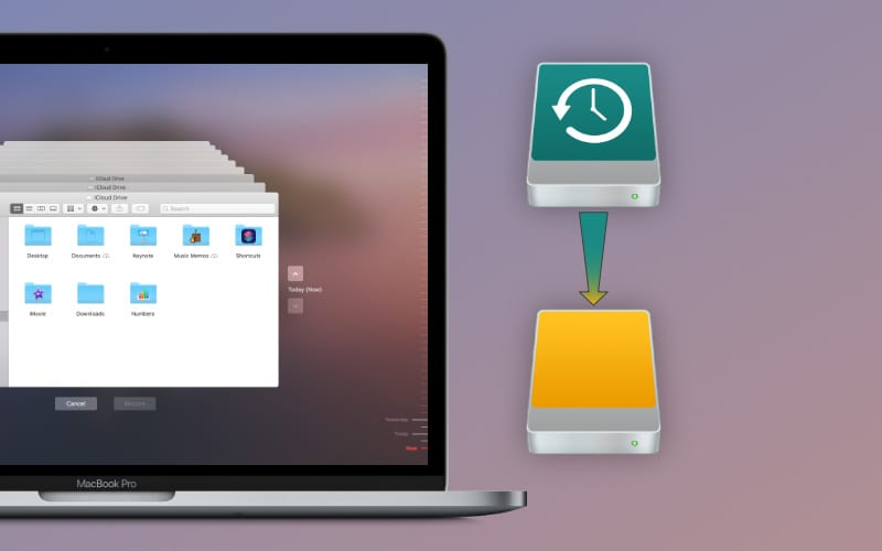 Transfer your Time Machine backups to a new drive