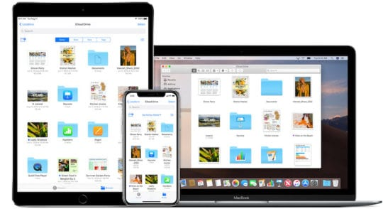 iCloud Drive feature