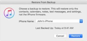 iOS 13 Downgrade