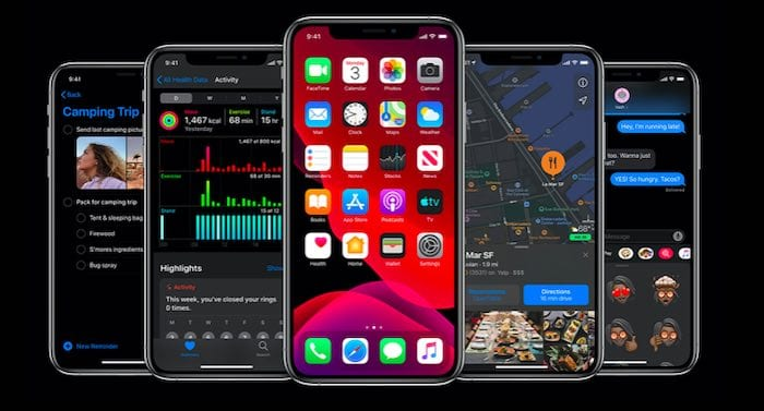 iOS 13 Settings changes and features