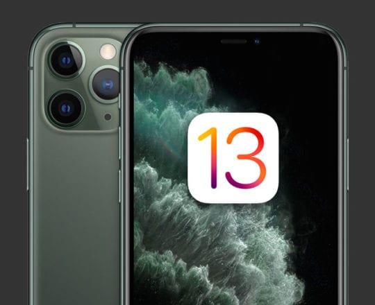 iPhone 11 and iOS 13