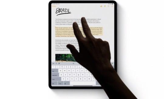 iOS 13 iPadOS Gestures