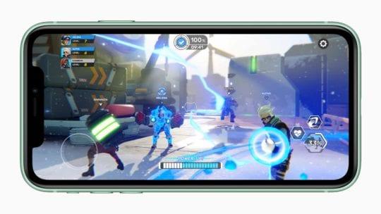 iPhone 11 Arcade Screen