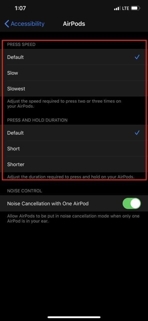 AirPods Pro not working 3