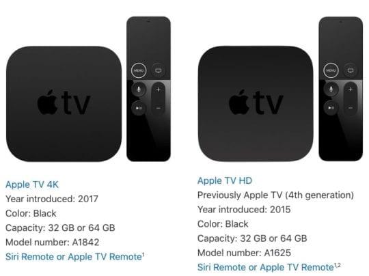 Arcade Apple TV selection