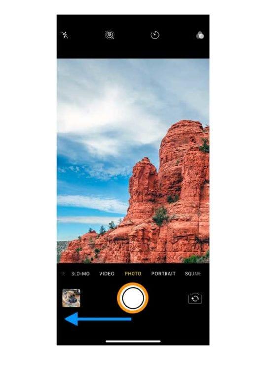 burst mode camera app iPhone 11 iOS 13