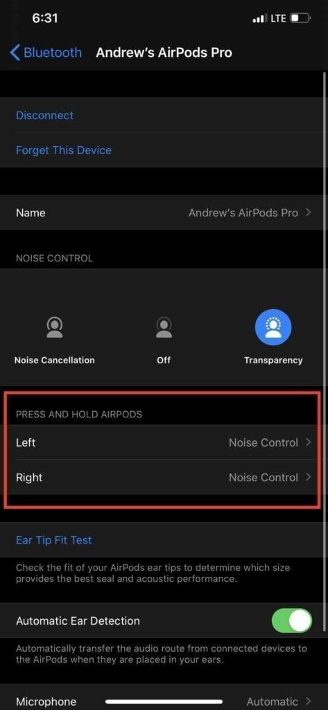 Change AirPods Pro Sensor 3