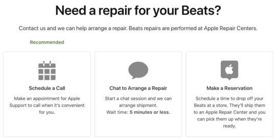 Contact Apple Powerbeats Pro