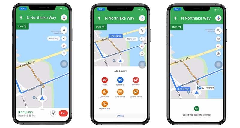 Google Maps Report