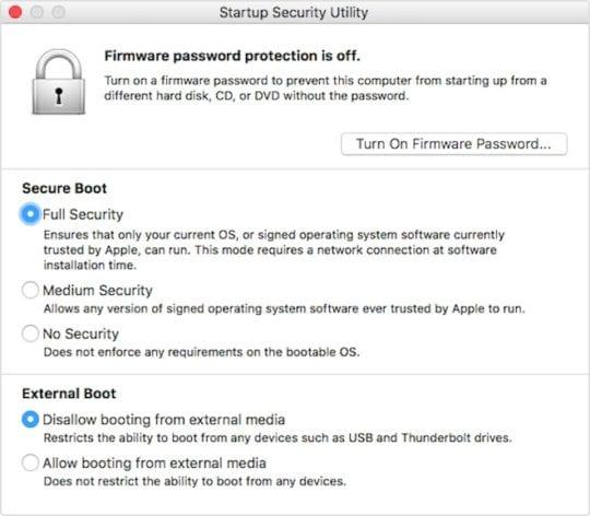 Repair Data - Secure Boot